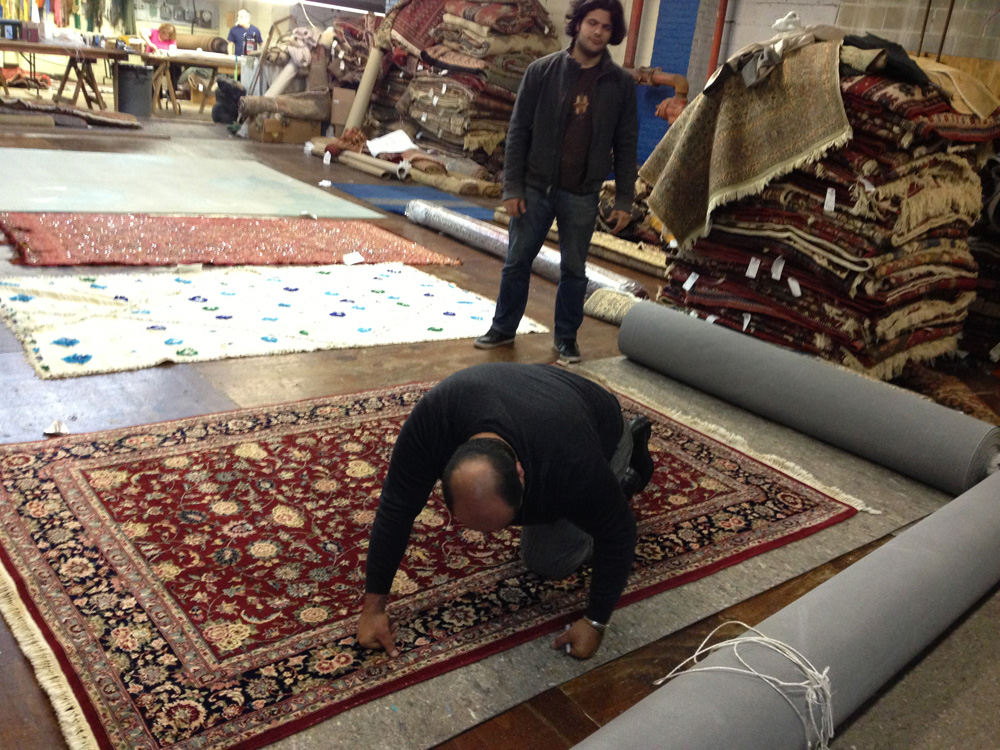 Kent Silk Rug Cleaning